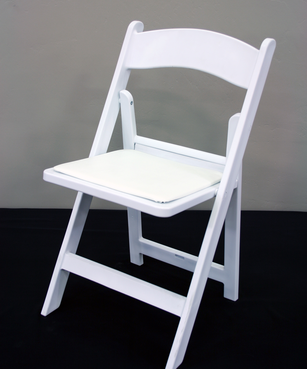 white wood resin chair walker lewis rents. Black Bedroom Furniture Sets. Home Design Ideas